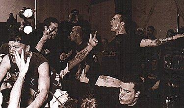 Converge live in 1997